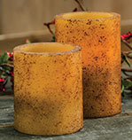 Burnt Ivory Candles