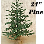 Pine Tree with Burlap Base, 2 ft.