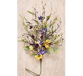 Mixed Pansy Spray - 24""