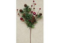 Jingle Bell Pine Pick
