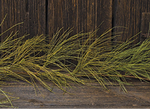 Wispy Grass Garland