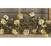 Teastain Daisy & Pip Garland, 4 ft.