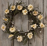 Teastain Daisy & Pip Wreath, 12""