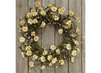 Teastain Daisy & Pip Wreath, 20""
