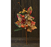 Burlap Crab Apple Pick