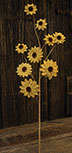 Burlap Daisy Spray Yellow