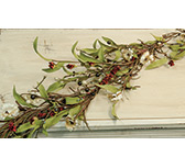Teastain Country Flower Garland,  4 ft.