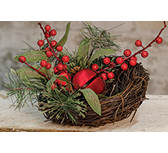 Holiday Brush Pine Bird Nest