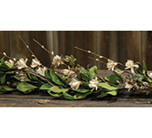 Teastain Gardenia Garland, 4ft