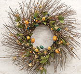 Country Easter Wreath, 20""