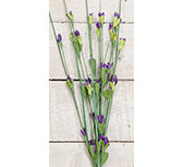 Wild Blossoms Pick - Purple - 16""
