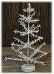 Silver Tinsel Tree 8\