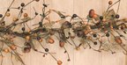 Country Mix Acorn Garland, 4 ft.