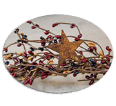 Colonial Star/Pip Garland 40""