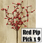 Red Pip Pick, 12""