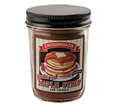 Buttered Maple Syrup 1/2 Pint Candle