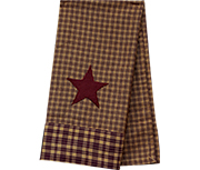 *Wine Star Dish Towel