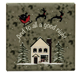 To All A Good Night Magnet Tile