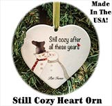 Still Cozy Heart Ornament