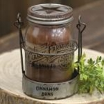 Cinnamon Buns 3 Layer Jar Candle w/Tin Holder, 14oz