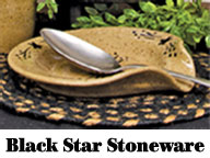 Black Star Spoon Rest