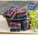 Star Spangled 3 Layer Melts, 5oz