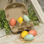 Spring Eggs in Carton