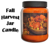 Fall Harvest Jar Candle, 26oz