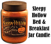 Sleepy Hollow Jar Candle, 26oz