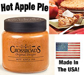 Hot Apple Pie Jar Candle, 16oz