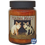 Pigs  Jar Candle