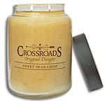 Sweet Pear Crisp Jar Candle, 26oz