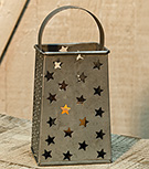 Star Grater Votive Holder 8""
