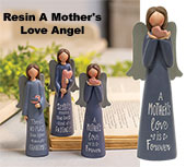 Resin A Mother\\'\\'s Love Angel