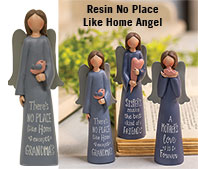Resin No Place Like Home Angel