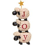 Joy Stacked Sheep w/Star