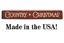 Country Christmas Engraved Block, 12\