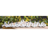 \\'\\'Rise and Shine\\'\\' Distressed White Resin Figurine