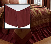 Ninepatch King Bed Skirt