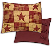 Ninepatch Pillow Sham, 21x27