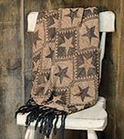 Jefferson Star Chenille Throw