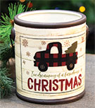 Dreaming of a Farmhouse Christmas Candle Crock, Balsam Fir