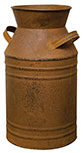 Rusty Milk Can, 11""