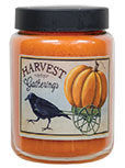 Harvest Gatherings Jar Candle, Pumpkin Pie, 26oz