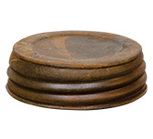Rusty Jar Lid, 3""