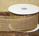 Frayed Burlap Ribbon