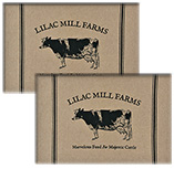 Majestic Cattle Placemats, 2/Set