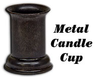 Shelf Candle Cup Taper Holder
