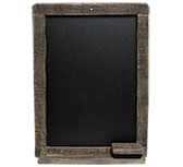 Wood Chalkboard - Natural
