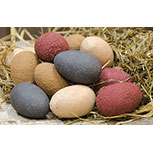 12/Pkg, Primitive Eggs, 1.5""